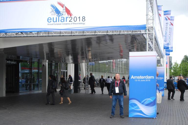 EULAR 2018 i Amsterdam